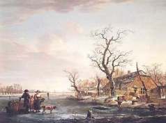 Jacob van Strij: Winter op de Devel